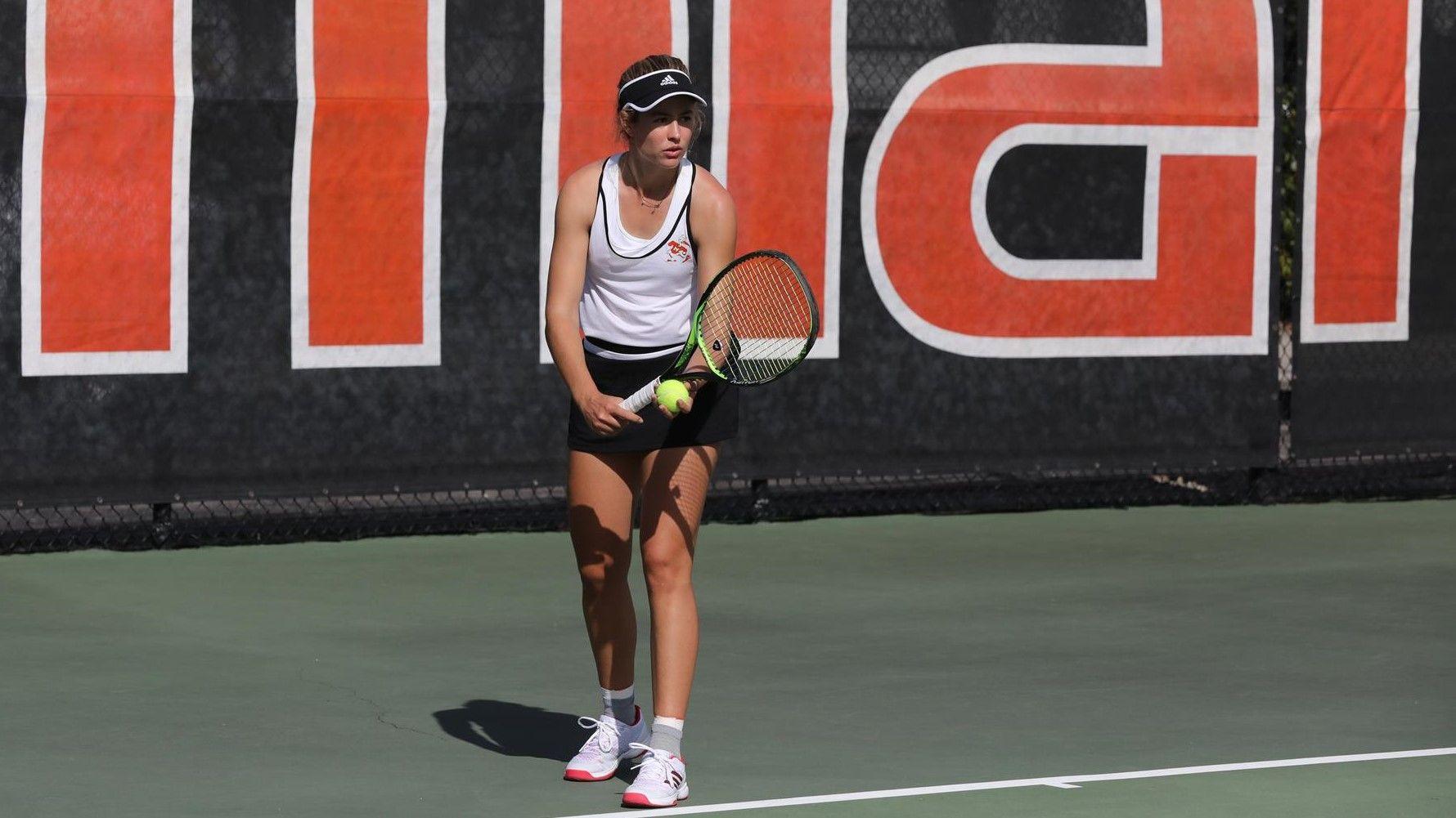 W. Tennis Concludes Play in Miami Spring Invite