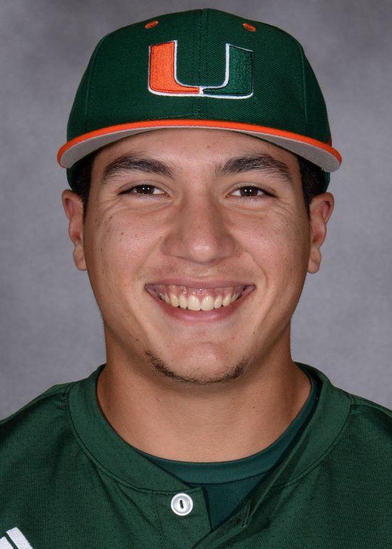 Andrew Cabezas - Baseball - University of Miami Athletics