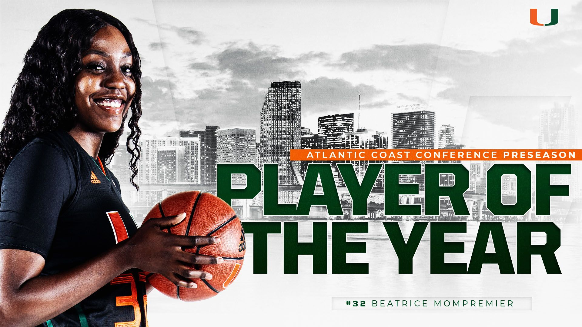 Mompremier Named ACC Preseason Player of the Year