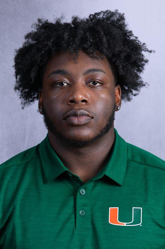Quentin Williams - Football - University of Miami Athletics