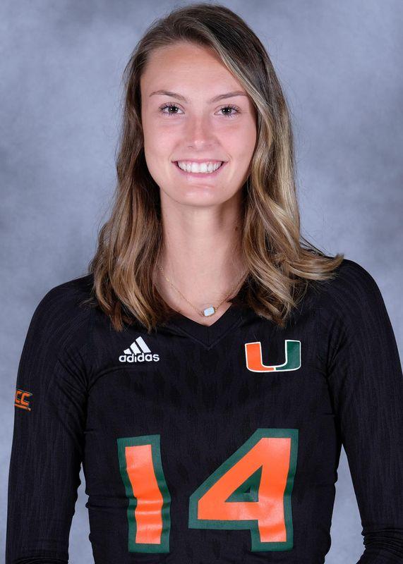 Angela Grieve - Volleyball - University of Miami Athletics