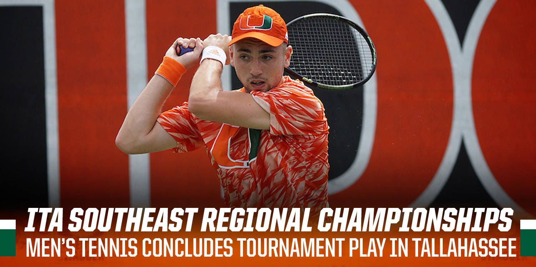 Men's Tennis Concludes Play at ITA Southeast Regionals
