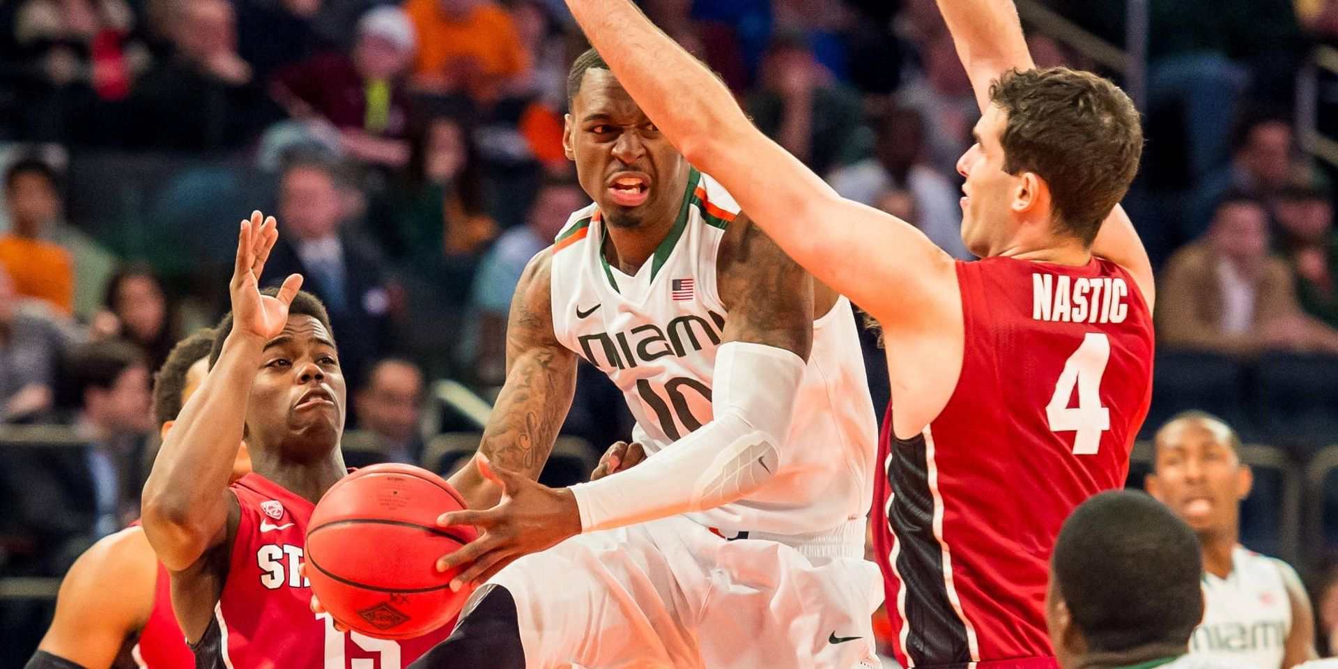 @CanesHoops Falls in OT to Stanford, 66-64