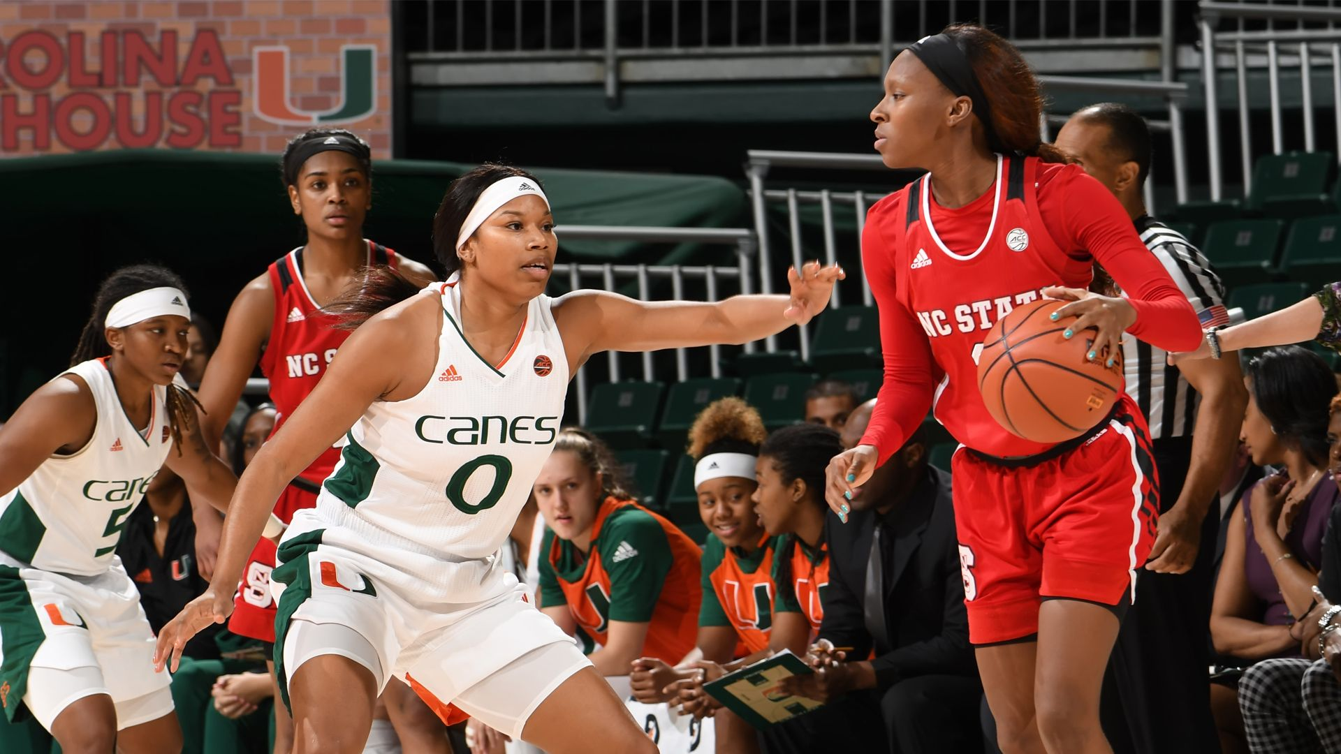 WBB Downs No. 23 NC State, 52-48