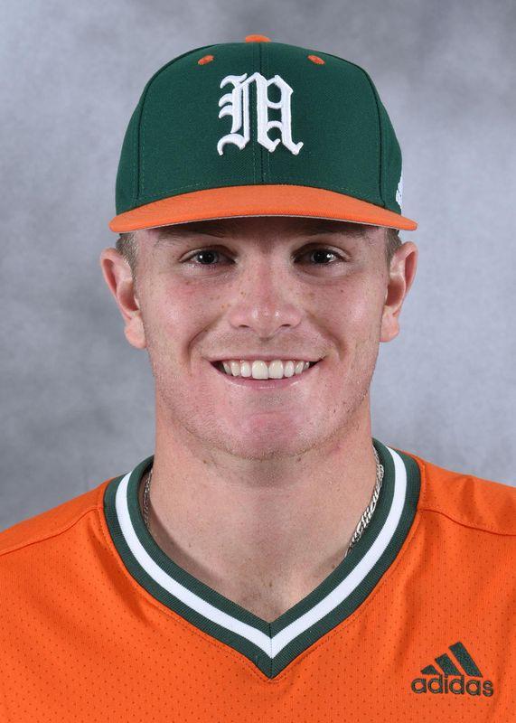 Josh Lauck - Baseball - University of Miami Athletics
