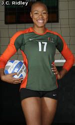 Canes Volleyball: Can U Dig It with Christine Williamson