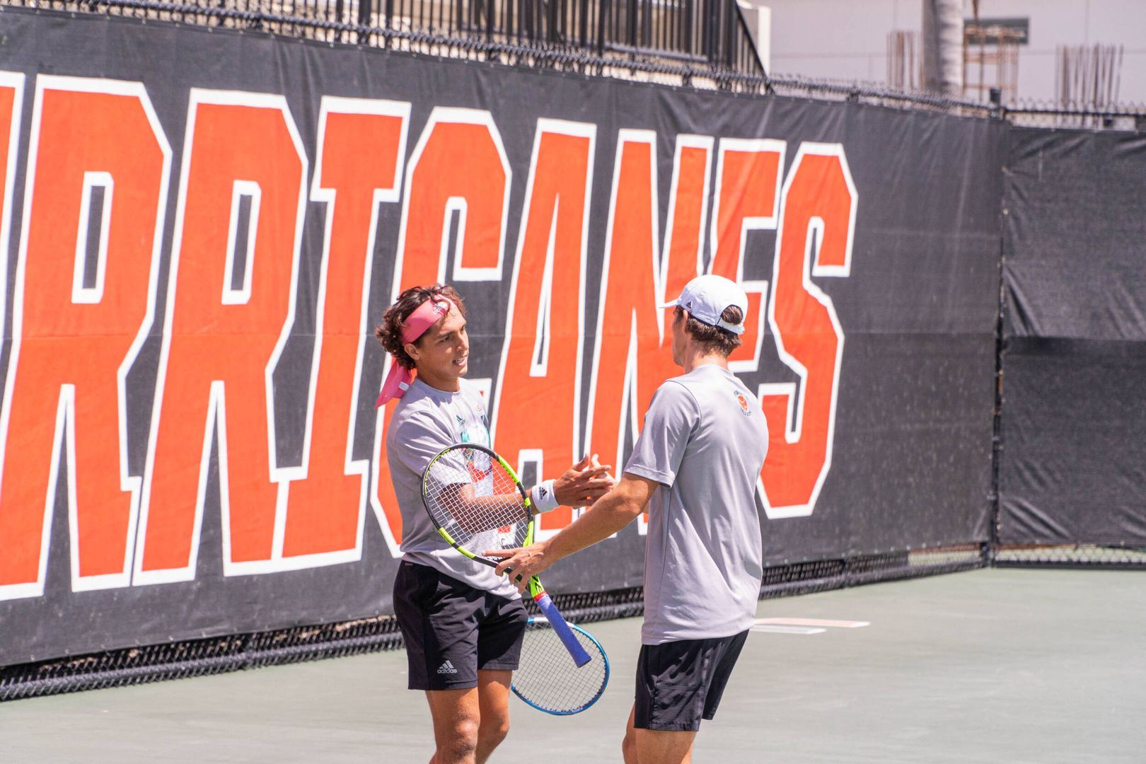 Aubone and Hannestad Named ACC Doubles Team of the Week