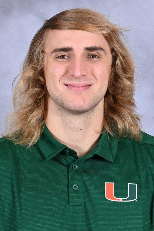 Robert Prosek - Football - University of Miami Athletics