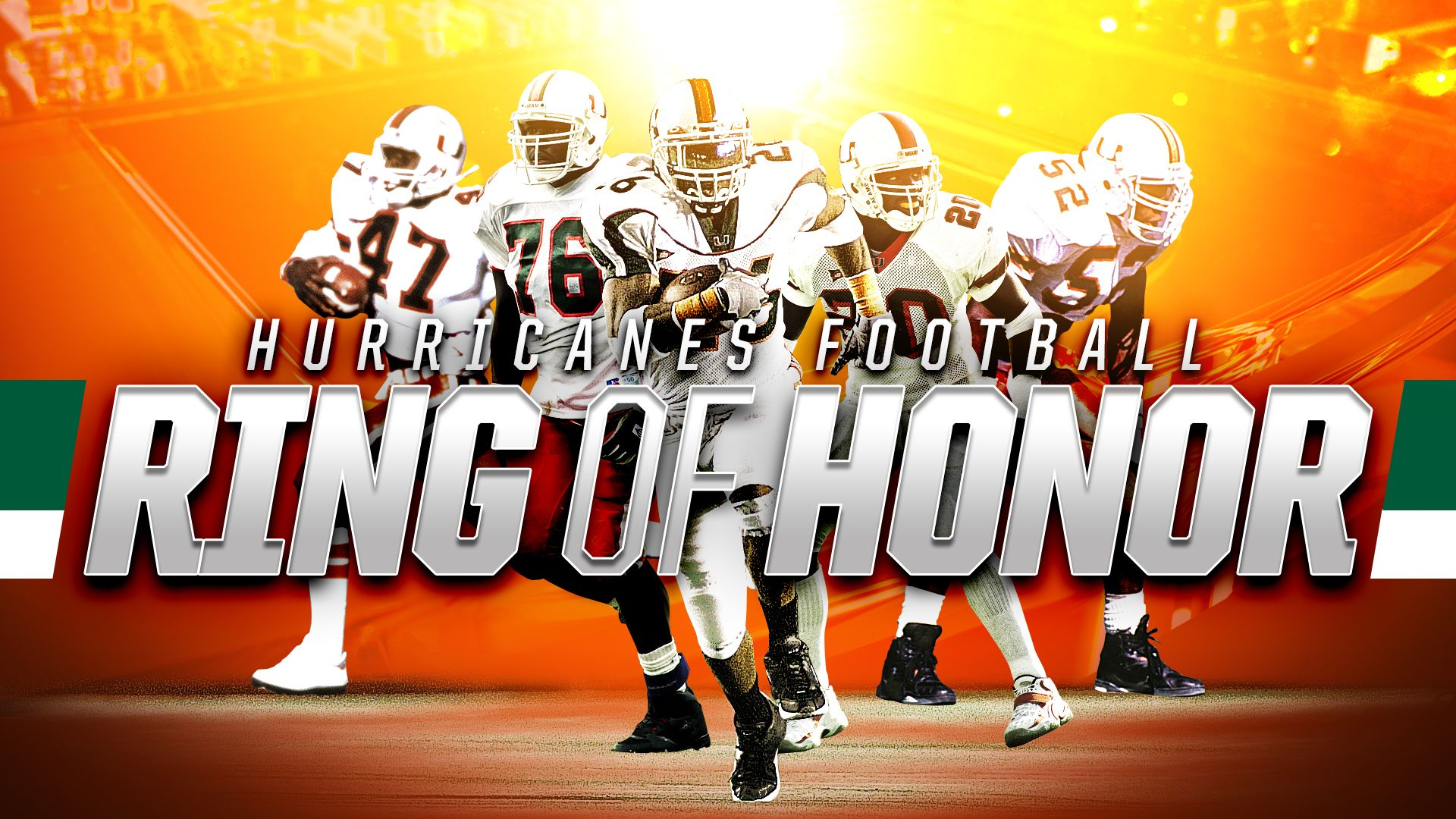 Five Legends Selected to Football Ring of Honor
