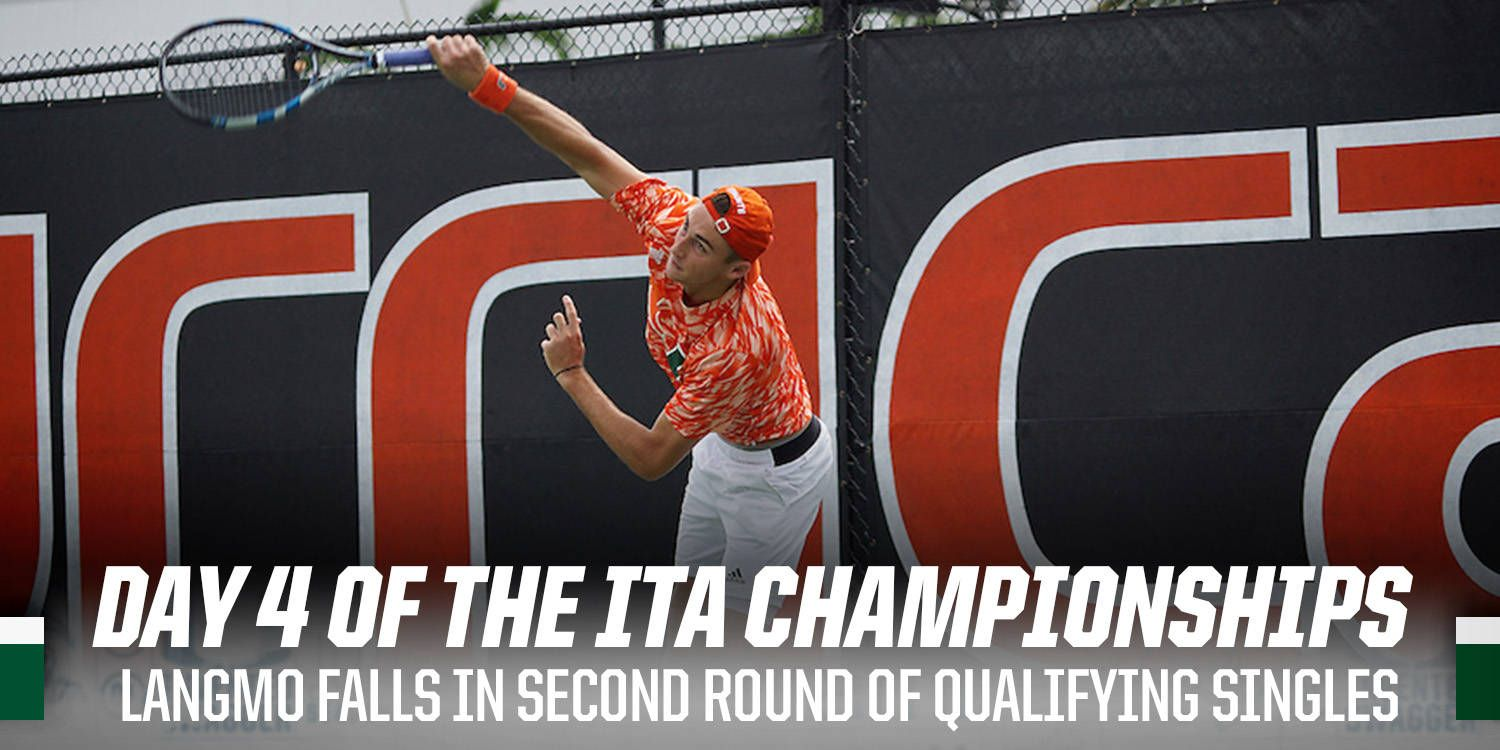 Langmo Falls in Second Round of Qualifying Singles