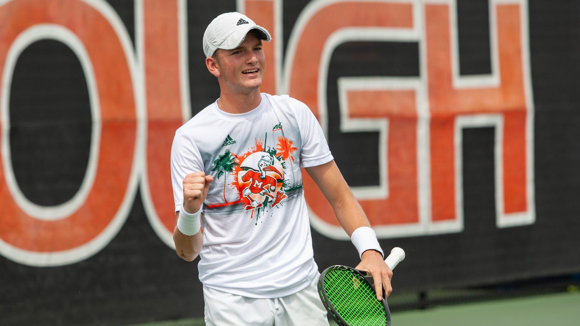 M. Tennis Completes Comeback Against Virginia Tech, 4-3