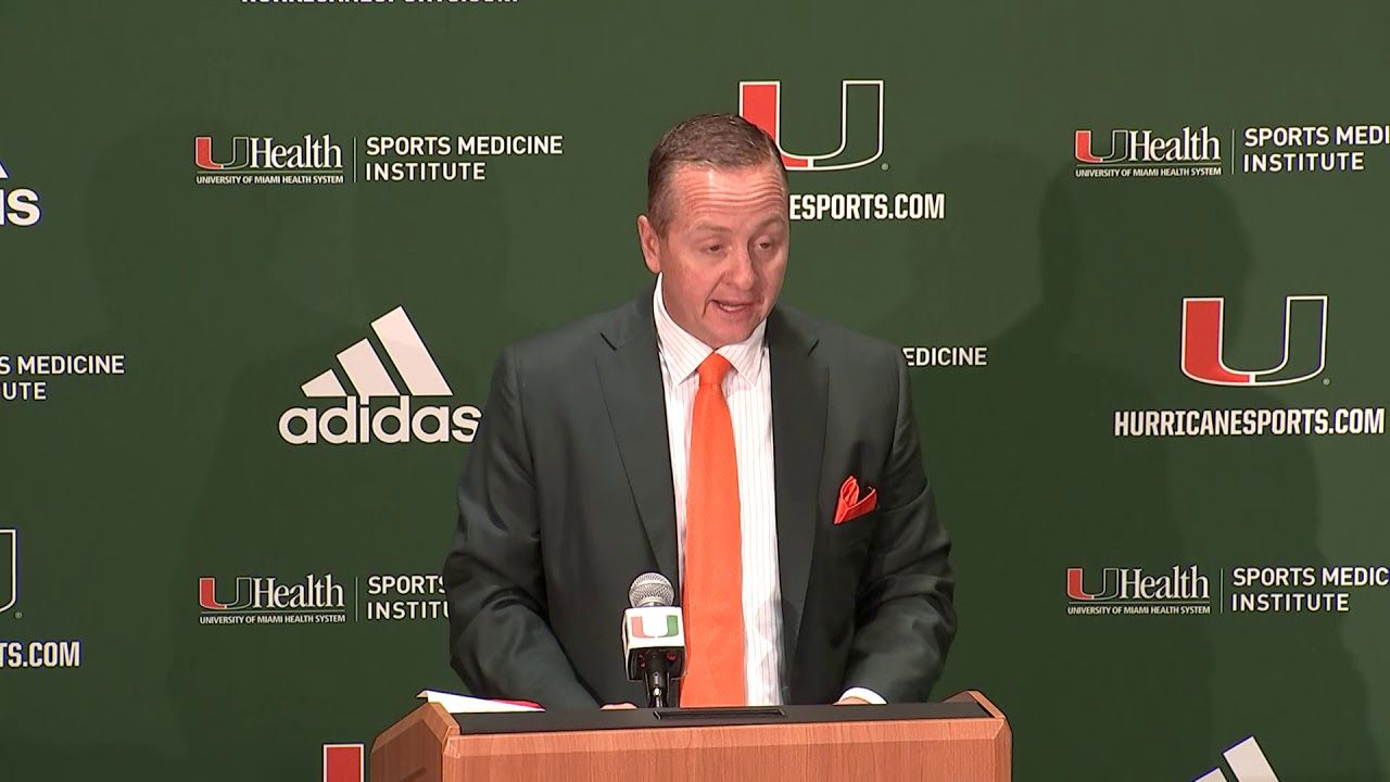 Manny Diaz   Head Coach Introductory Press Conference   01.02.2019