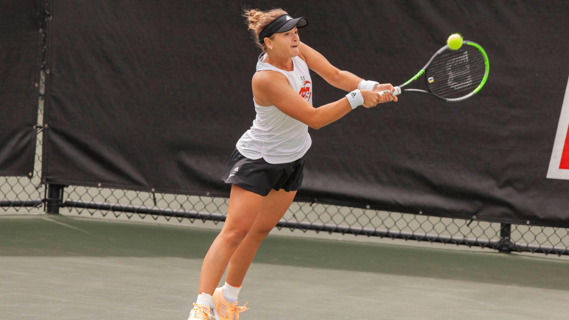 W. Tennis Storms Past Louisville, 6-1