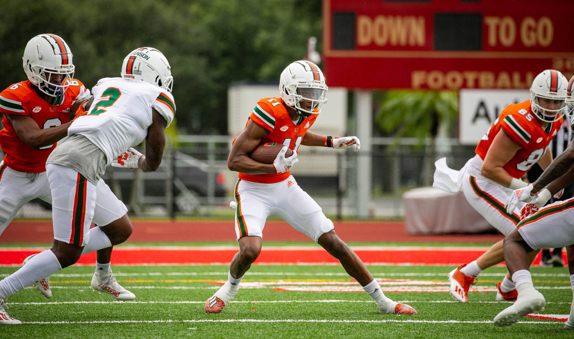 Takeaways from Miami's First Scrimmage of Camp