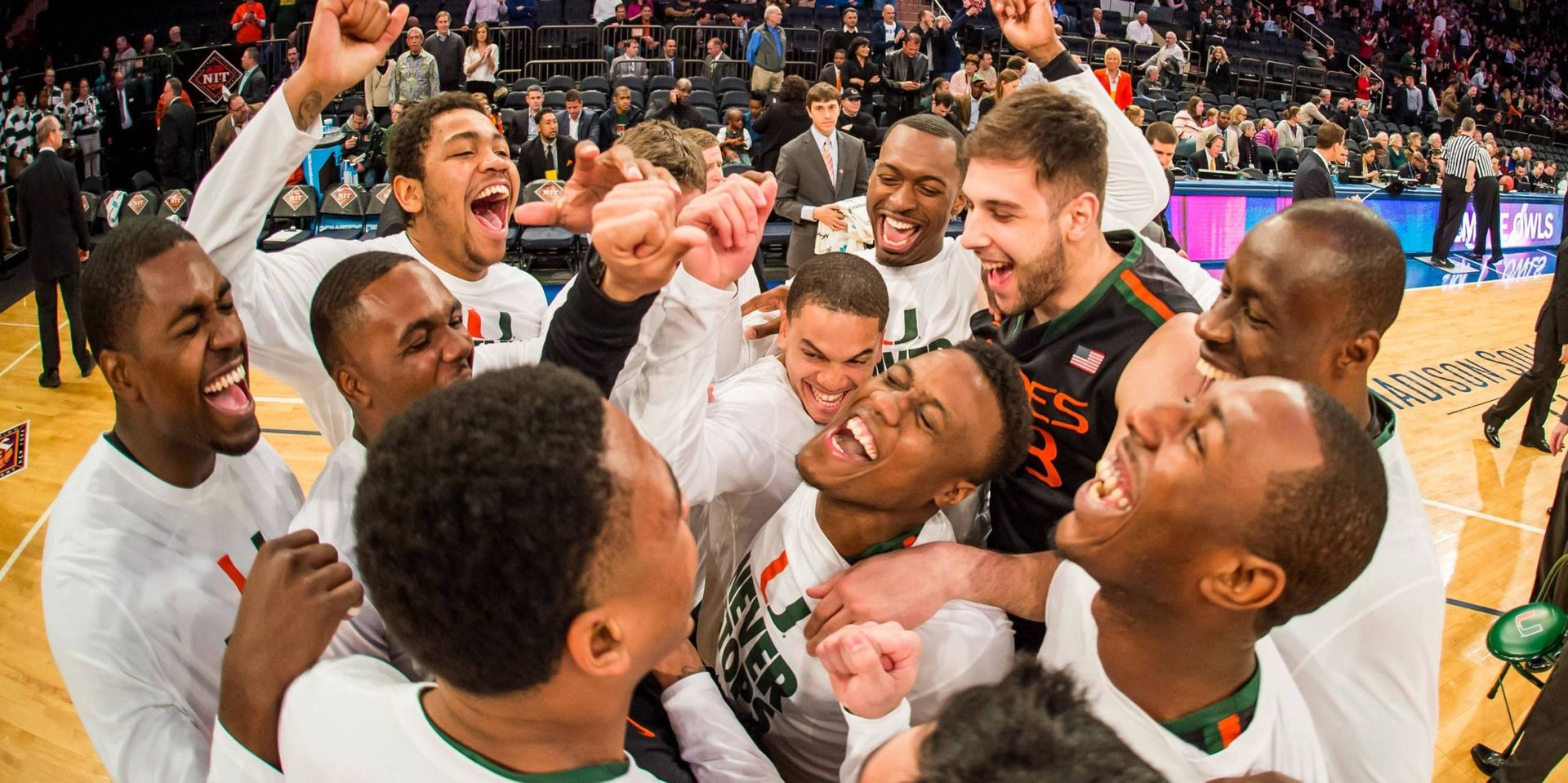 Canes Down Owls 60-57; Advance to NIT Finals