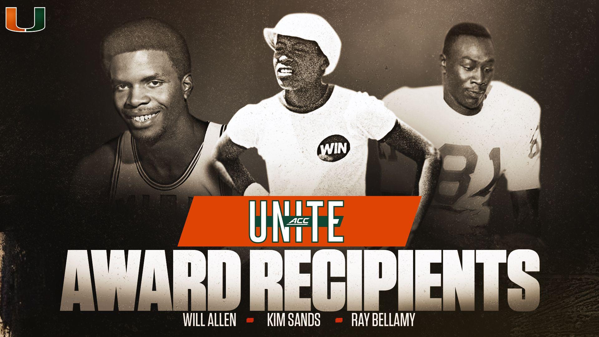 ACC Announces Inaugural UNITE Award Recipients