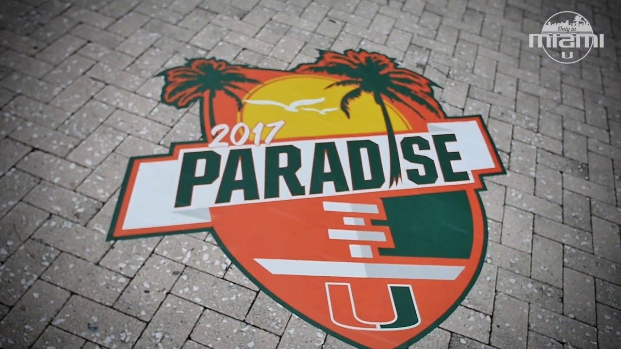 Only in Miami   Canes Football   8.3.17