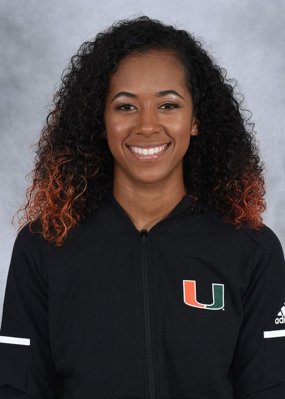 Celine Thompson - Track & Field - University of Miami Athletics