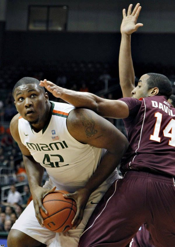 Canes Win Their Fifth Straight Game 65-49 Over the Hokies