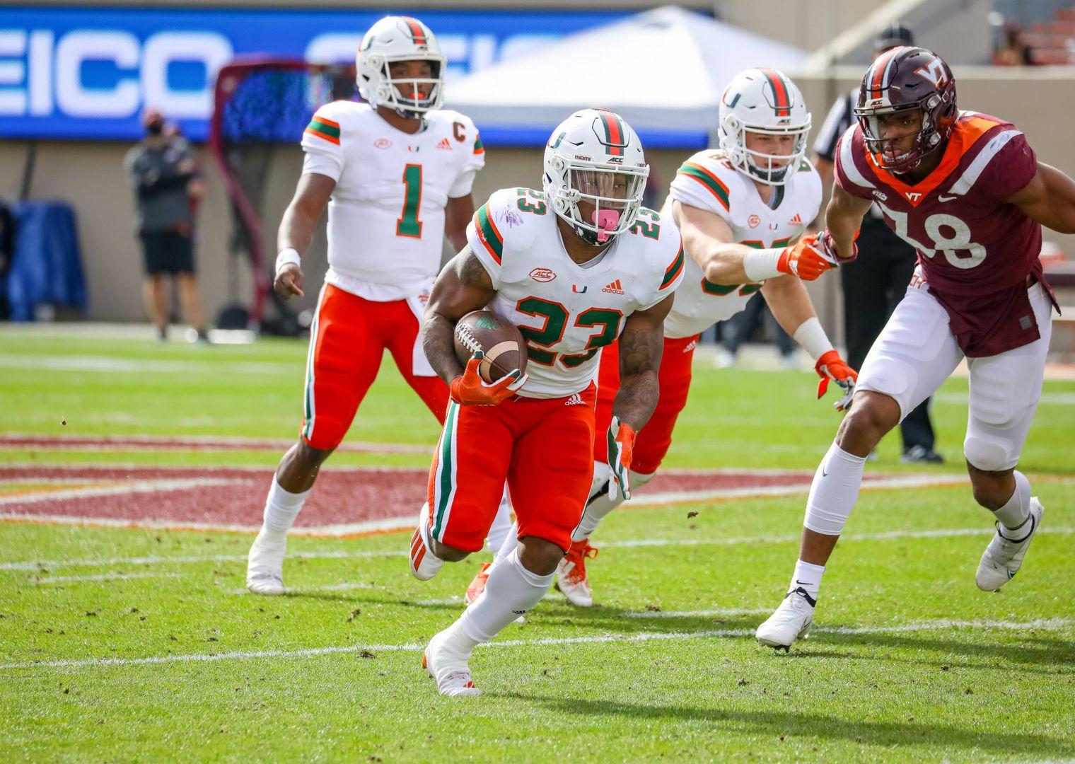 Ten Takeaways from Miami's 25-24 Win over Virginia Tech