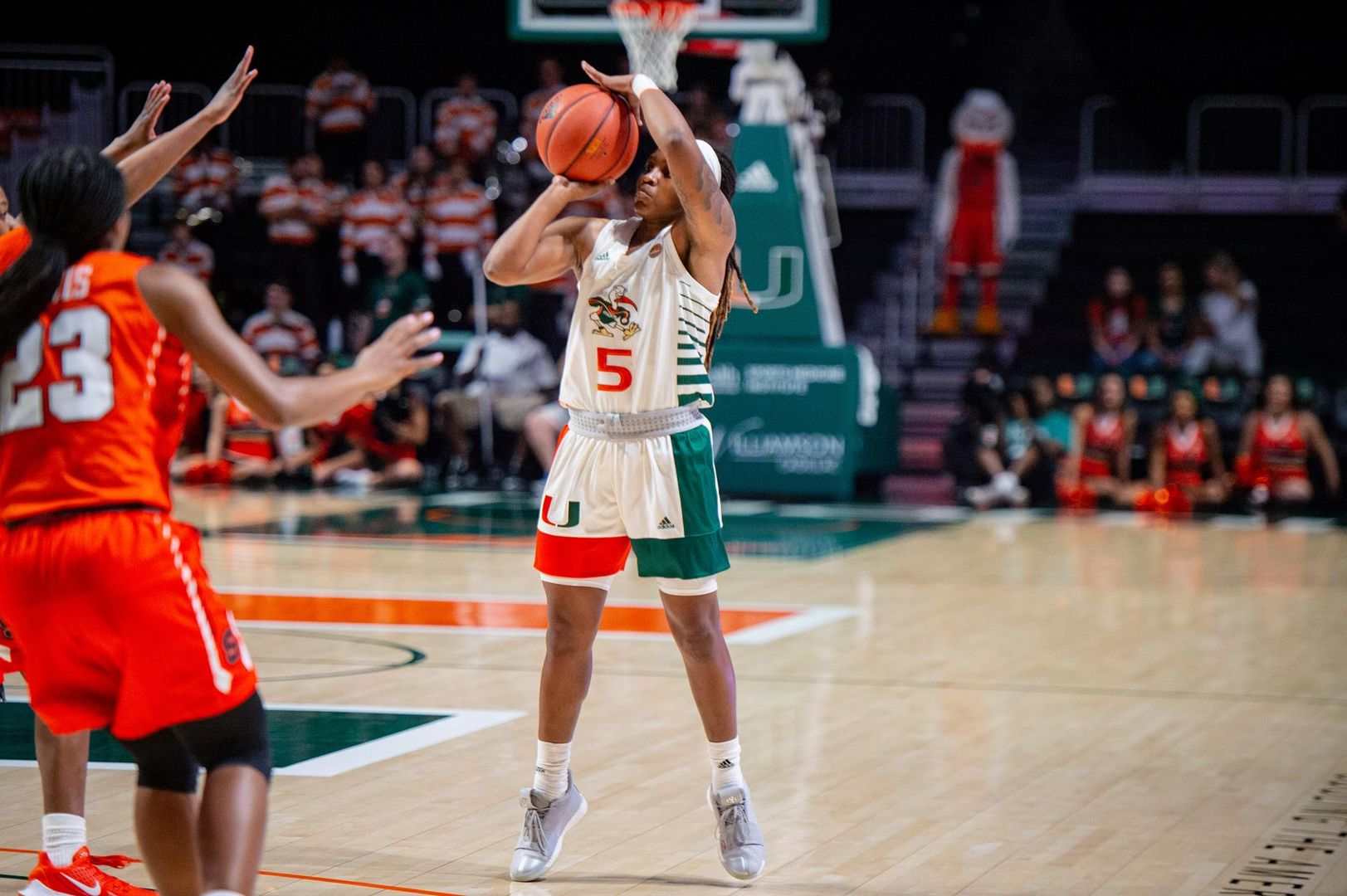 Miami Posts Double-Digit Victory Over Syracuse