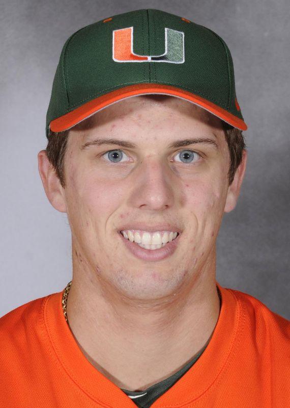 Brad Fieger - Baseball - University of Miami Athletics
