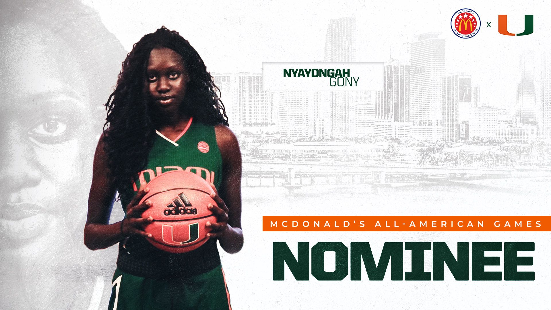 2020 Signee Gony Named McDonald's All-American Games Nominee