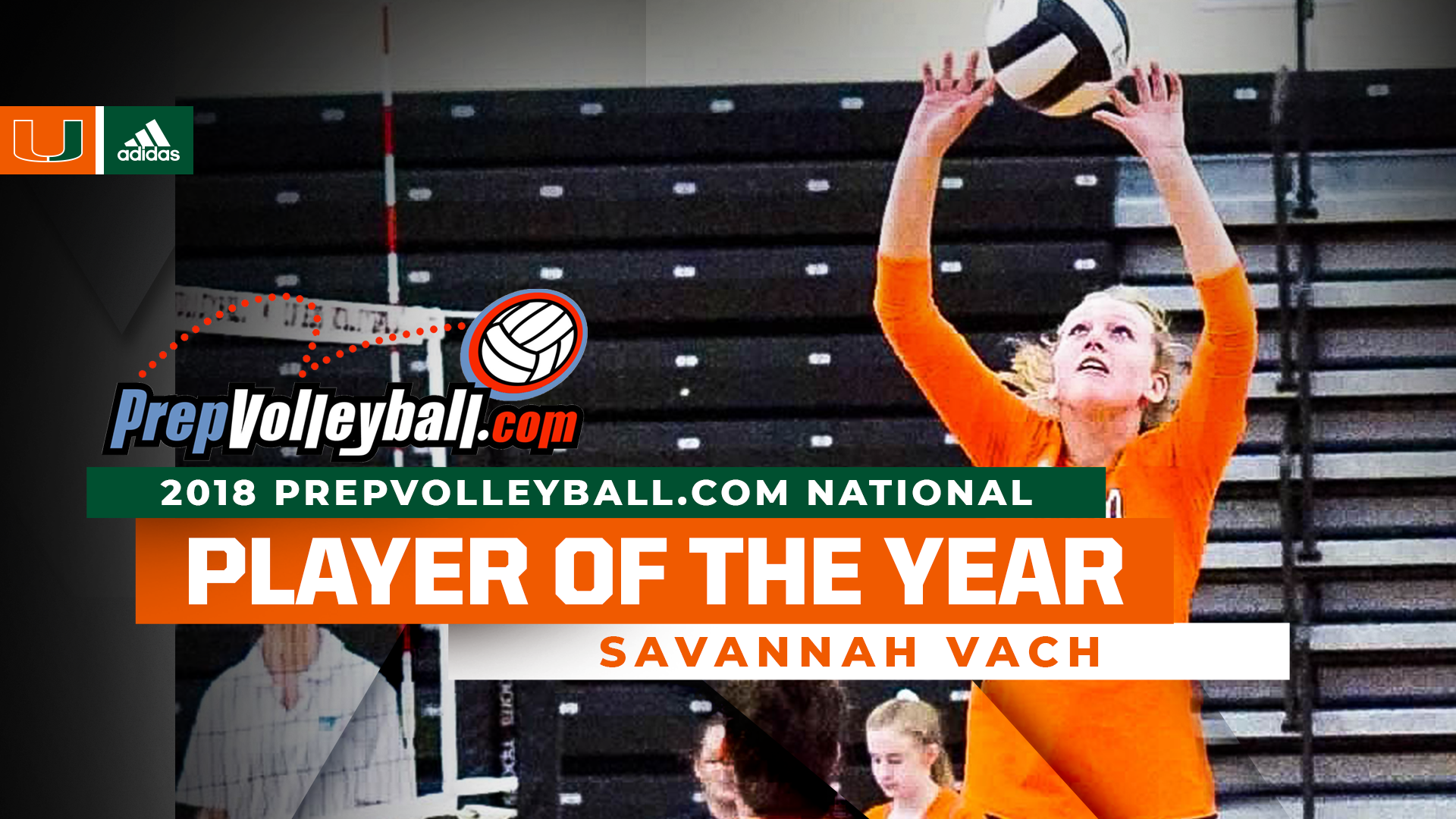 Vach Named 2018 PrepVolleyball National Player of the Year