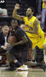 Hurricanes Fall to Terrapins, 81-59