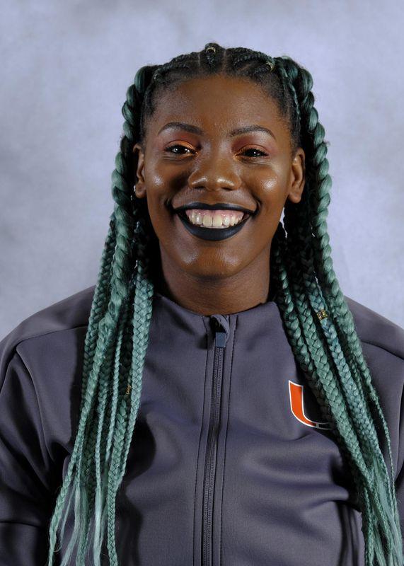 Zakiya Rashid - Track & Field - University of Miami Athletics