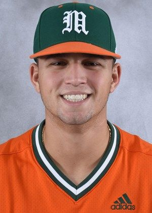 Slade Cecconi - Baseball - University of Miami Athletics