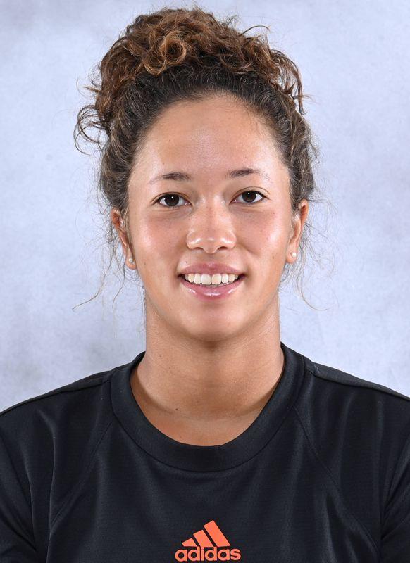 Daevenia Achong - Women's Tennis - University of Miami Athletics