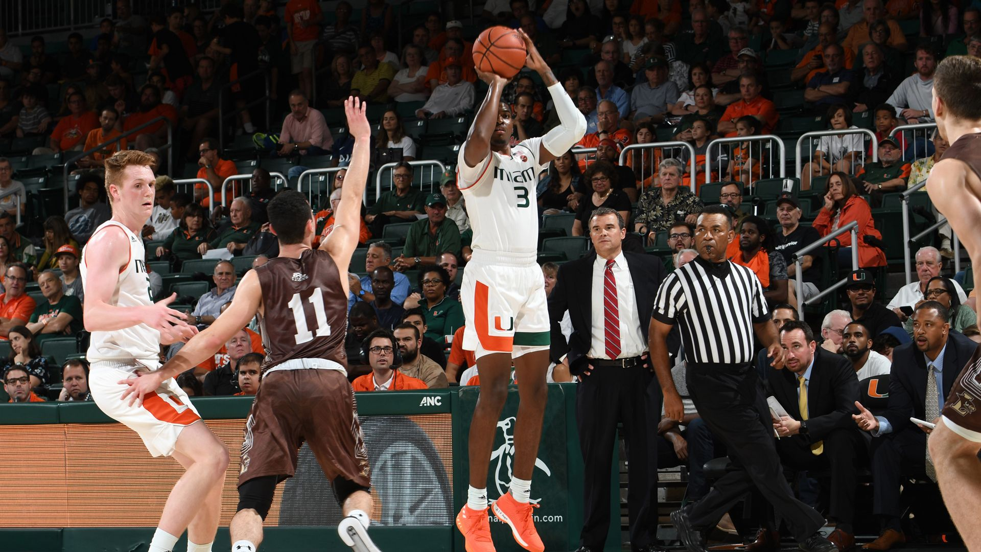 Canes Storm Past Mountain Hawks, 83-62