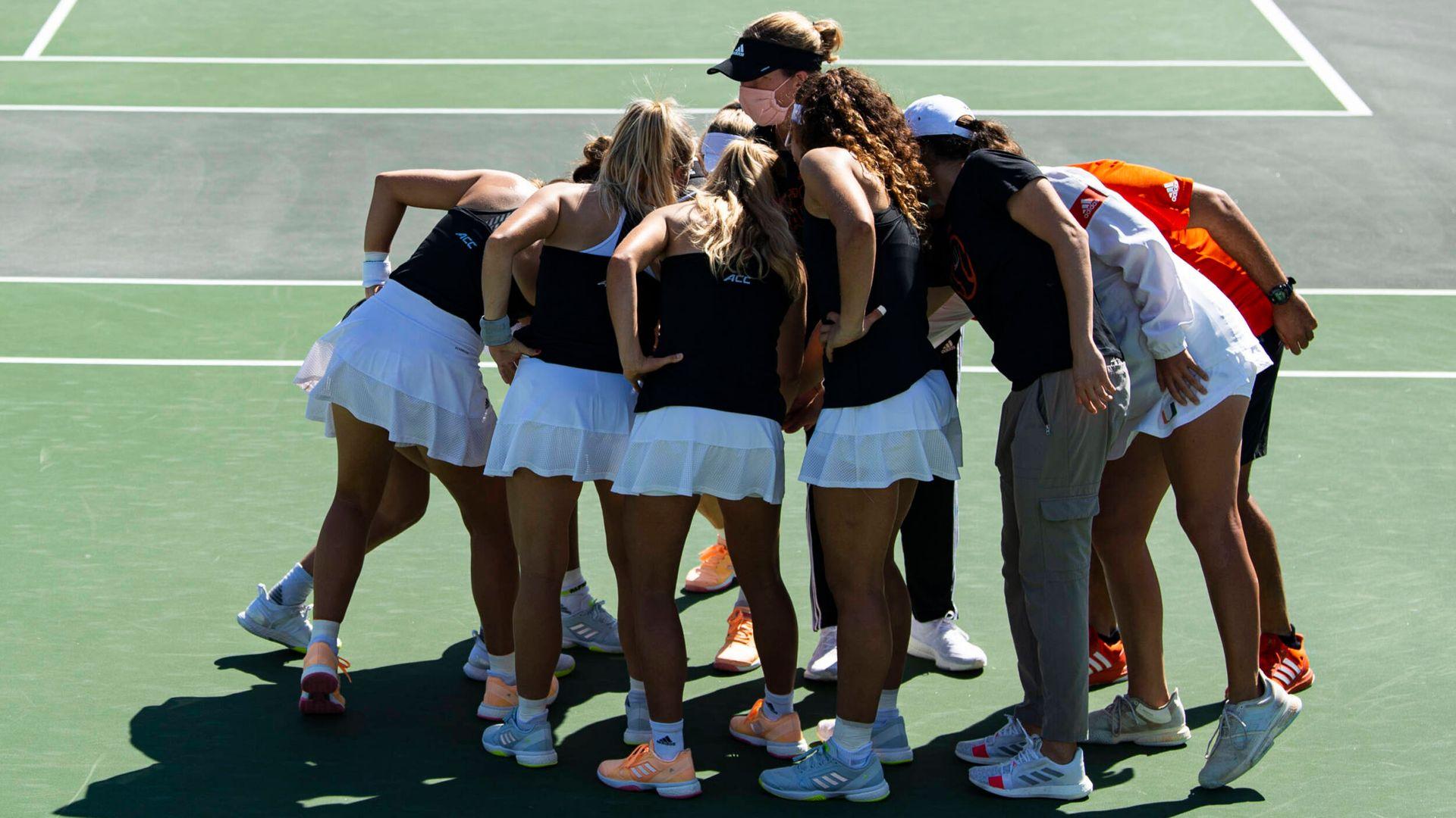 Yaroshuk-Tews Sets Fall W. Tennis Slate