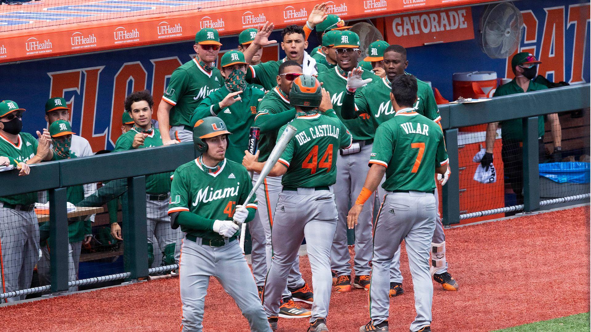 Miami Ranked No. 1 by Collegiate Baseball