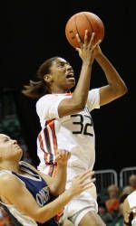Ninth-Ranked Canes Cruise to Victory Over Longwood