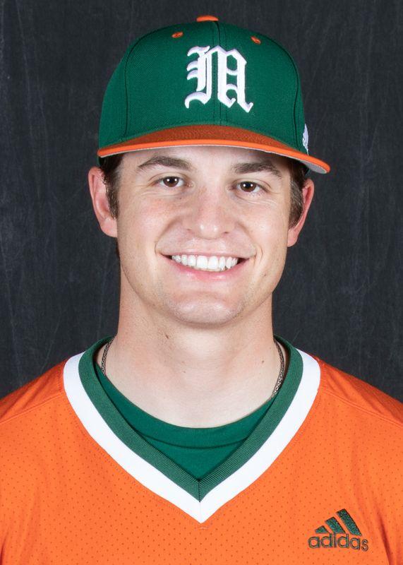 Adam Frank - Baseball - University of Miami Athletics