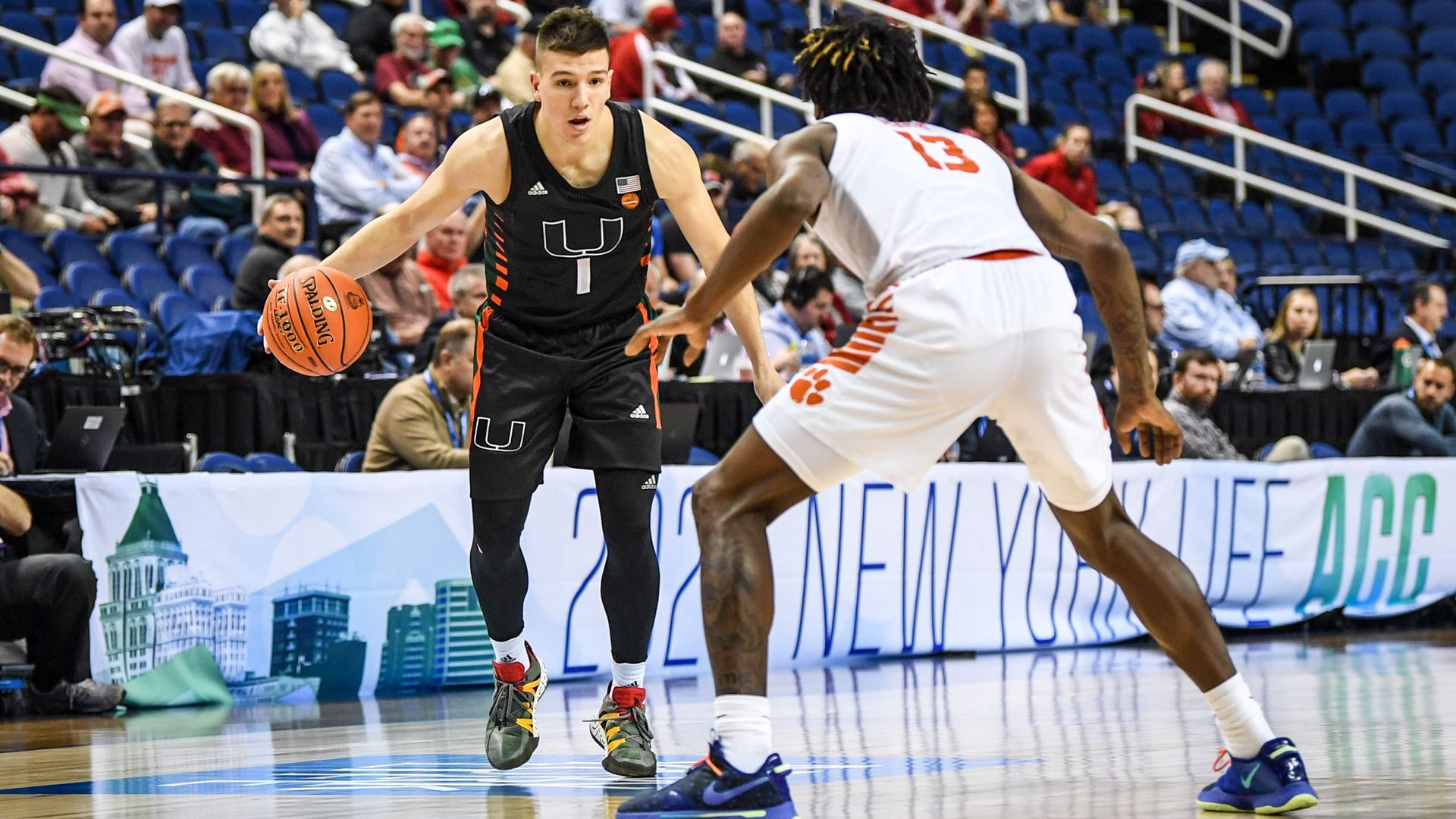 MBB Falls to Clemson, 69-64, in ACC Tournament