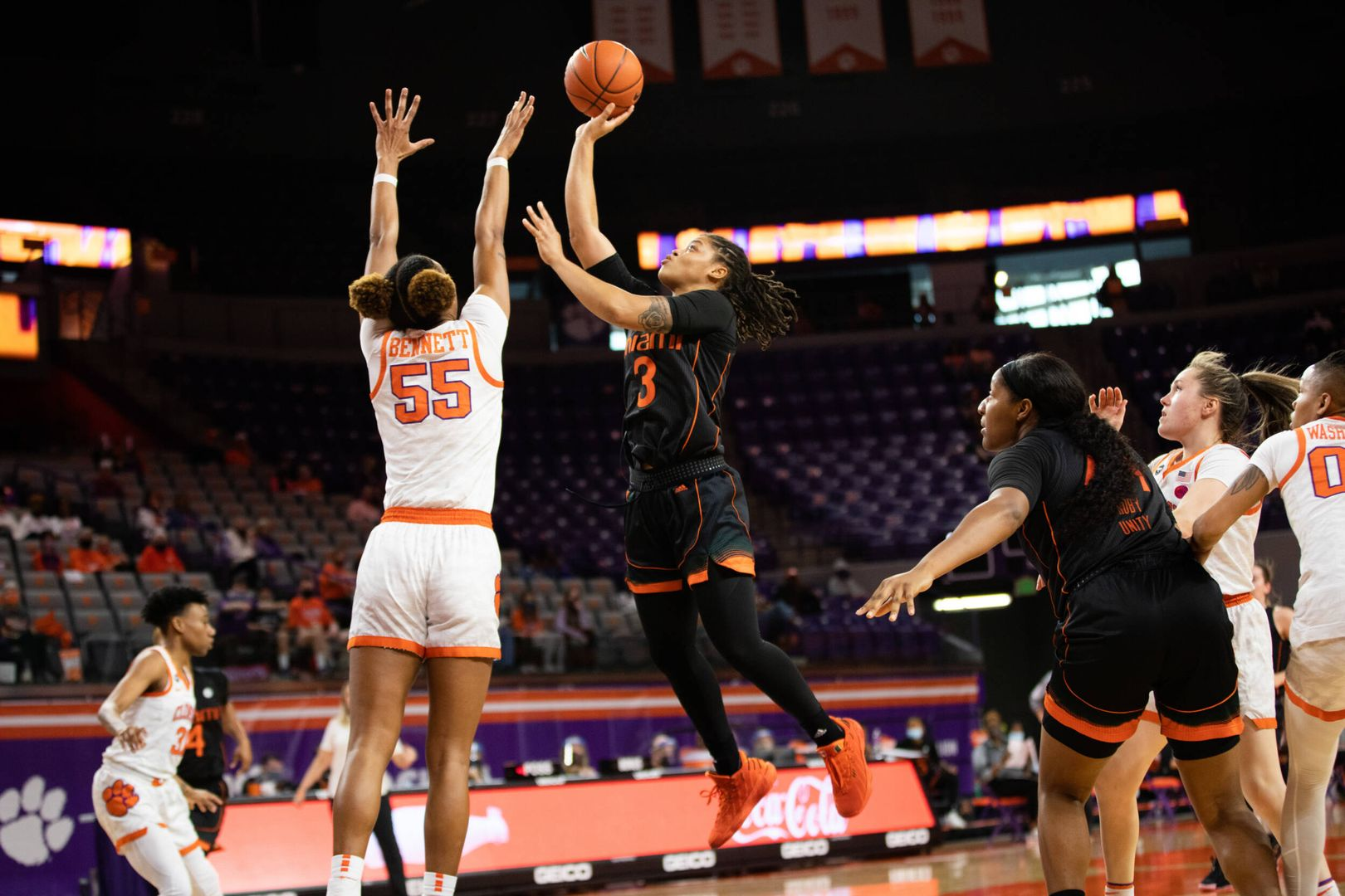 Miami Downs Clemson for Third Straight Win