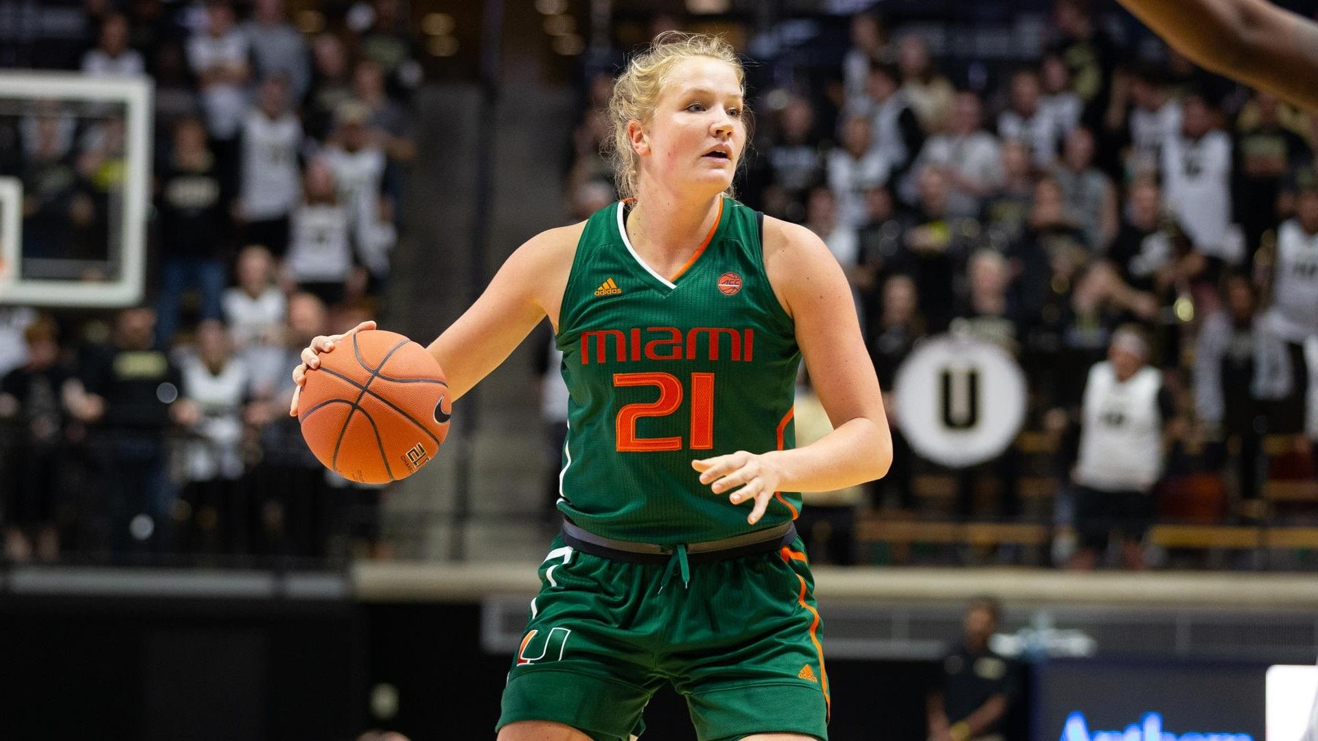 WBB Falls at Purdue, 74-63, in ACC/B1G Challenge