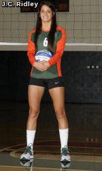 Canes Volleyball: Can U Dig It with Julia Giampaolo