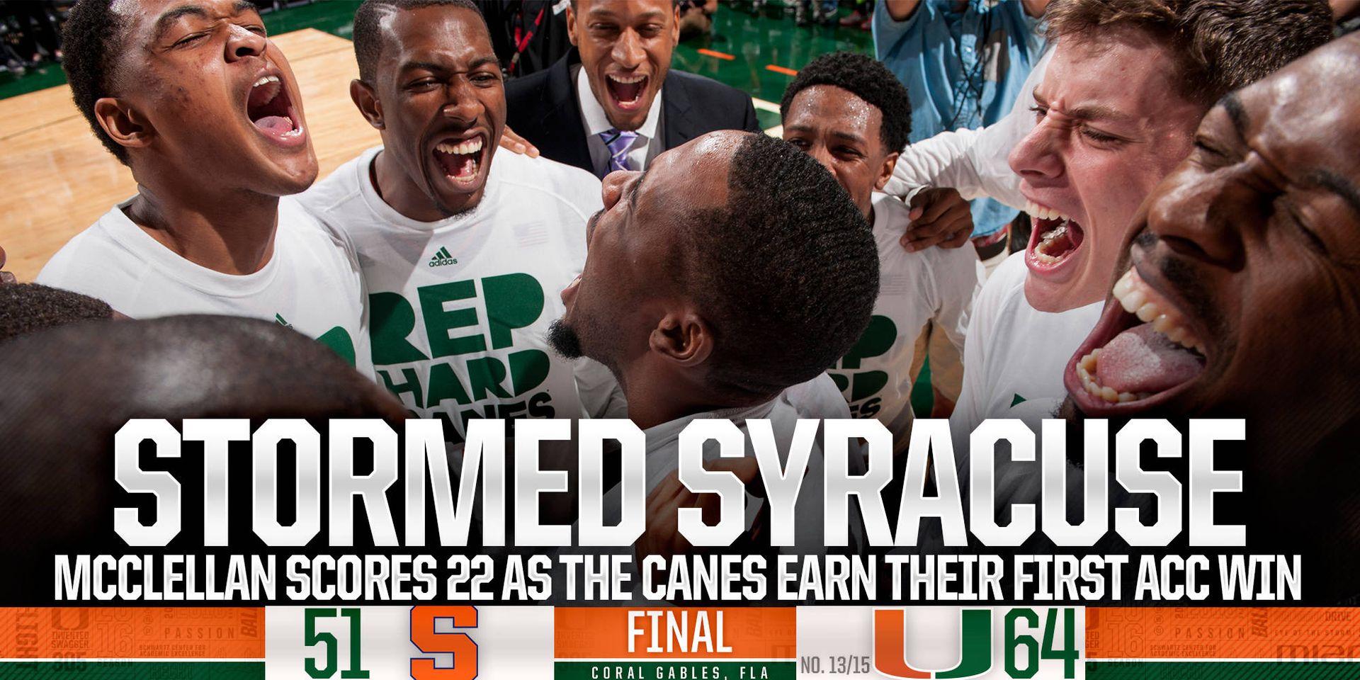 Stormed Syracuse
