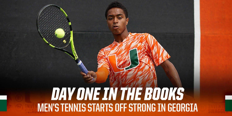 Men's Tennis Opens Play in Athens, Ga.