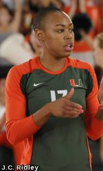 Georgia Tech Upsets No. 23 Miami in ACC Volleyball