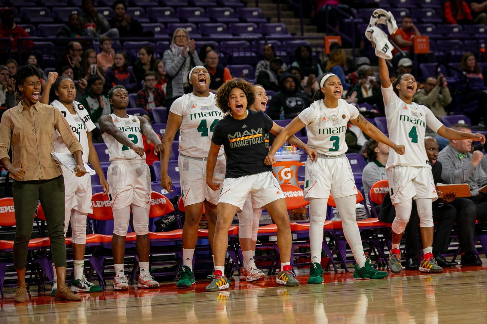 Canes Complete Season Sweep of Clemson