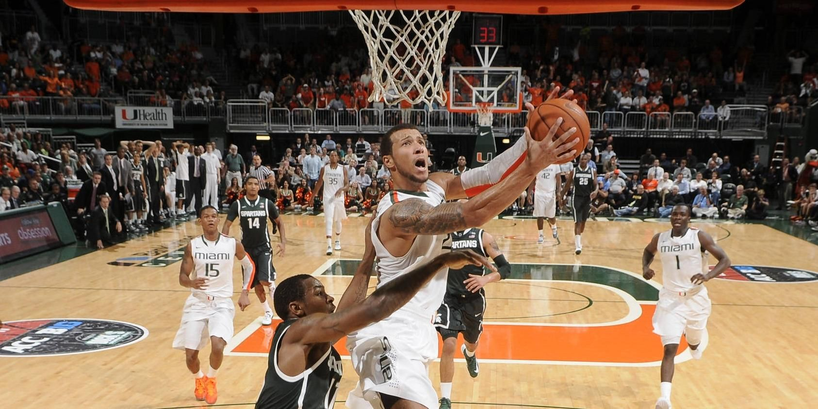 Canes Fall to Indiana State, 57-55, in OT
