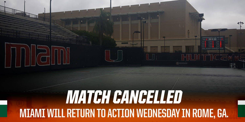 Match Cancelled