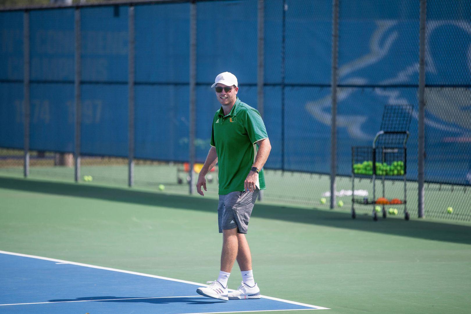 Darragh Glavin Named Assistant Men's Tennis Coach