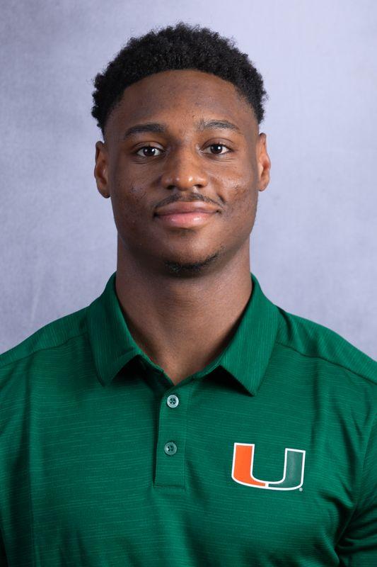 Dante Johnson - Football - University of Miami Athletics