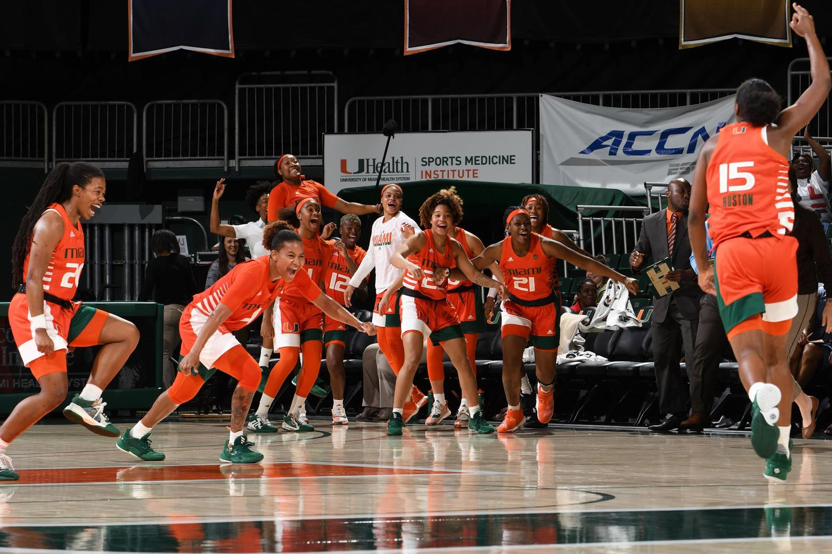 Canes Claw Past Bearcats, 79-56